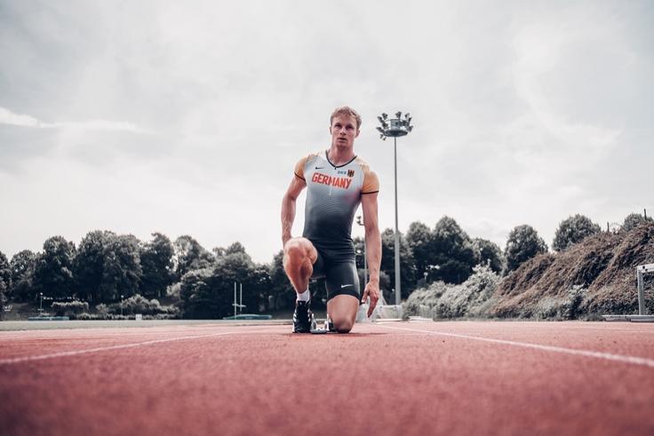 Erstes Öffentliches Training mit 400m Star Johannes Trefz